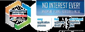 no interest ever payment plans
